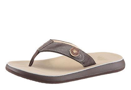 Krojové sandále pánske s ozdobným gombíkom