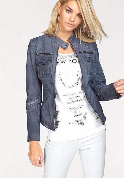 Laura Scott motoros dzseki »valódi bőr«