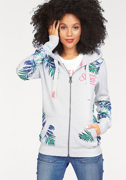 Superdry Mikina s kapucňou »SUPER BEACH ZIPHOOD«