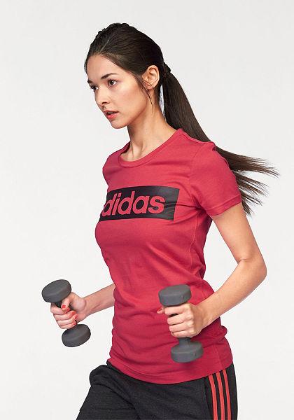 adidas Performance ESSENTIALS LINEAR TEE tričko
