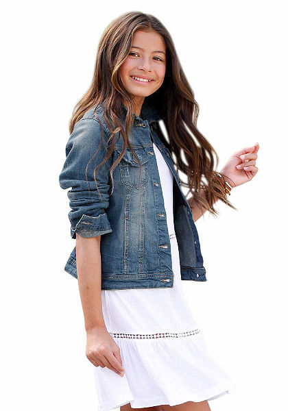 Džínsová bunda, pre dievčatá