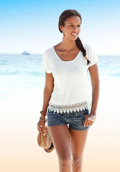 LASCANA strand pulóver