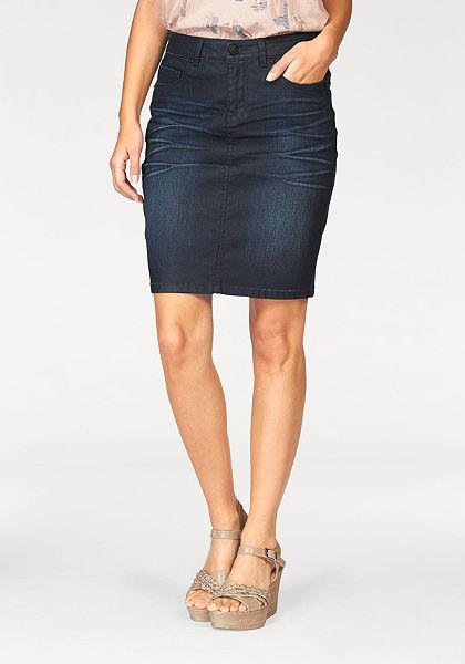 H.I.S džínsová sukňa »Jeansrock«