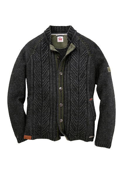 Spieth & Wensky Krojový pánsky sveter s tradičným pleteným vzorom