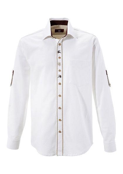 OS-Trachten Krojová košeľa vo vidieckom štýle