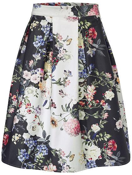 ASHLEY BROOKE by heine Sukňa s kvetinovou potlačou