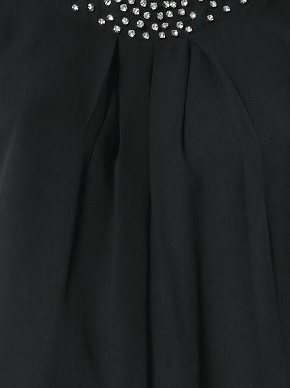 PATRIZIA DINI by Heine sifonblúz strasszkövekkel