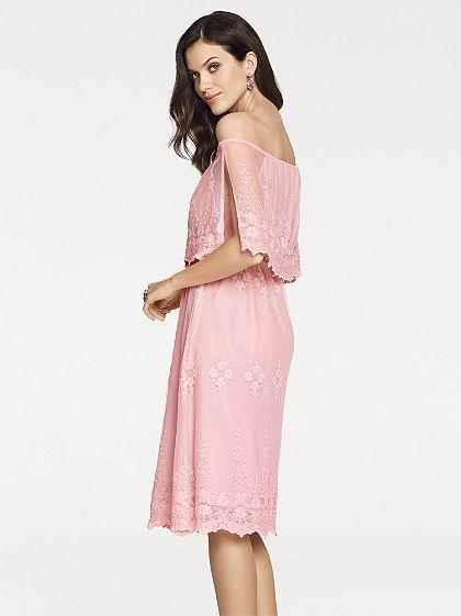 ASHLEY BROOKE by heine Čipkované šaty v romantickom hravom vzhľade