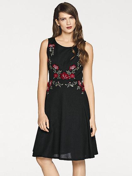 ASHLEY BROOKE by heine Výšívané kvetinové šaty