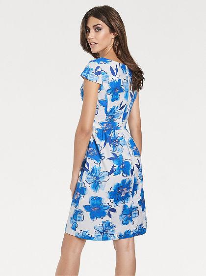 ASHLEY BROOKE by Heine testkövető virágos nyomott mintás ruha