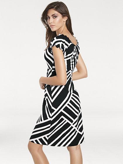 ASHLEY BROOKE by heine Formujúce vzorkované šaty