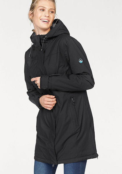 Polarino Nepromokavý kabát, podšitá měkkým flísem