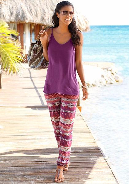 LASCANA Plážové kalhoty