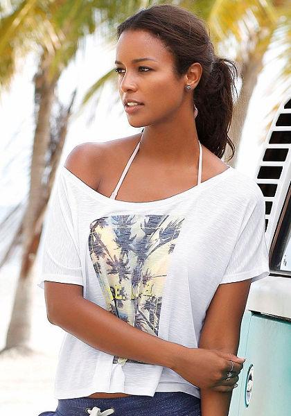 Venice Beach Letné tričko