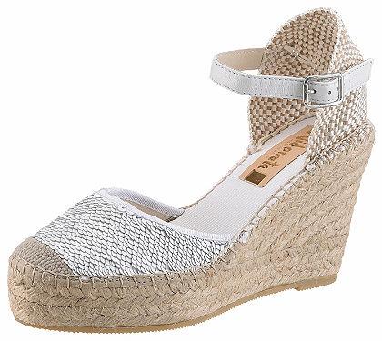 Vidorreta Sandály s plným podpatkem