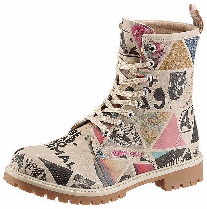 DOGO Šnurovacie topánky »Be Abnormal«