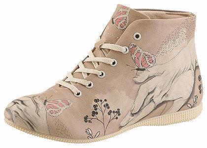 DOGO Šněrovací boty »Lady butterfly«