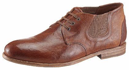 NOCLAIM Šněrovací kotníková obuv»Tinto Amber«
