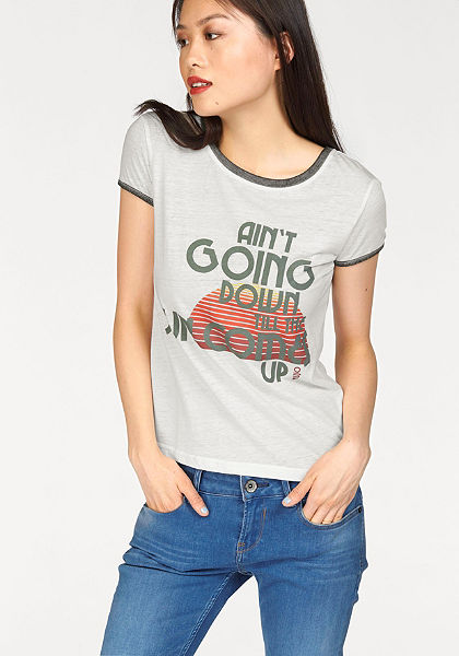 khujo Vzorované tričko »Molly Sun«