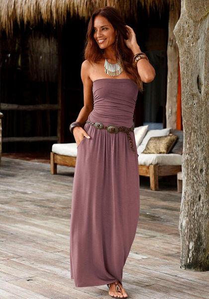 LASCANA Dlouhé šaty
