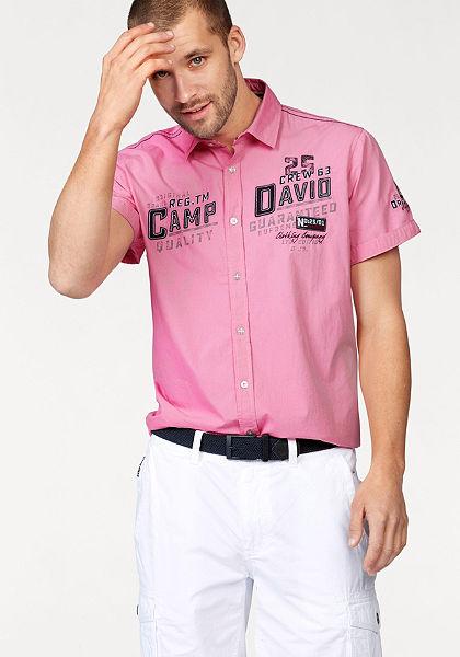 CAMP DAVID Košile s krátkými rukávy