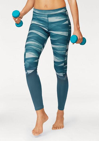 adidas Performance Sportovní legíny »TECHFIT BASE LONG TIGHT PRINT«