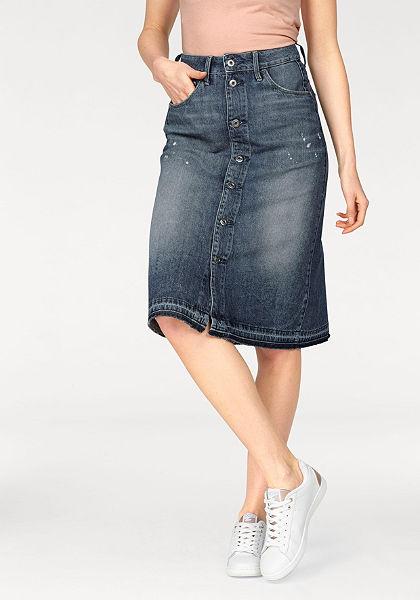 G-Star farmer szoknya »Arc BTN A-line Midl Skirt«