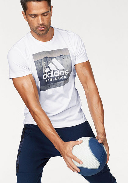 adidas Performance Tričko »ESSENTIALS CATEGORY REGULAR TEE«