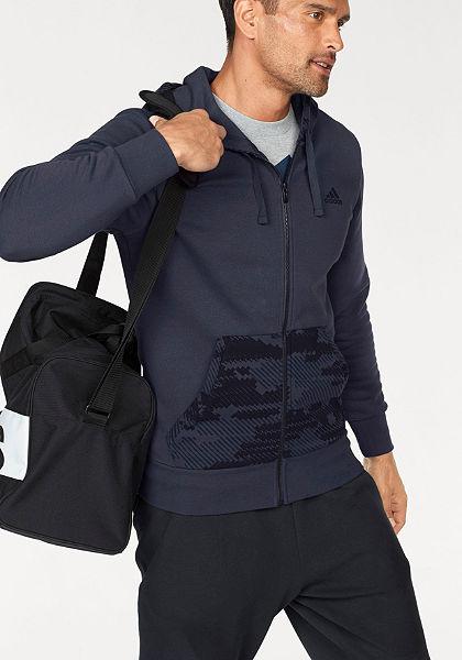 adidas Performance Mikina s kapucňou »ESSENTIALS CAMO FULL-ZIP HOOD FLEECE«