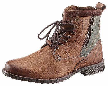 s.Oliver RED LABEL Šnurovacie topánky vysoké