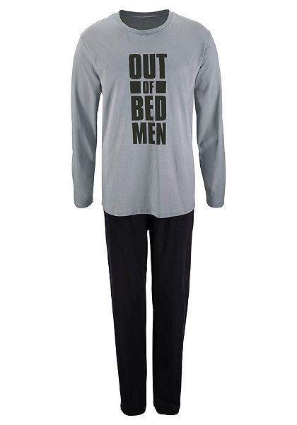 Le Jogger Pyžamo dlouhé s potiskem na přední straně