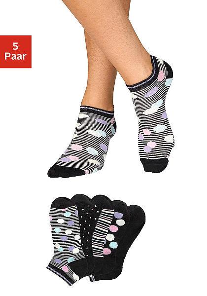 Bench sneaker zokni (5db)