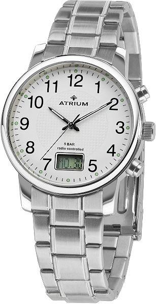 Atrium Rádiem řízené náramkové hodinky »A25-30«