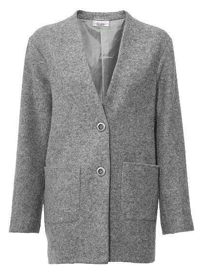 LINEA TESINI by Heine gyapjú kabát hozzá tartozó sállal