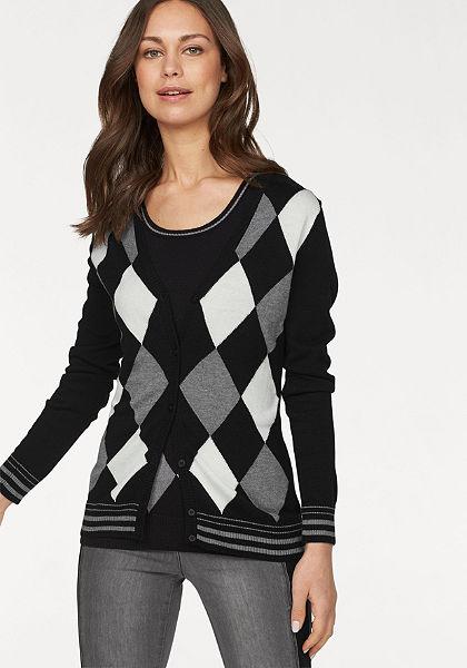 Flashlights Pletený sveter »argyle« (aj pulóver)
