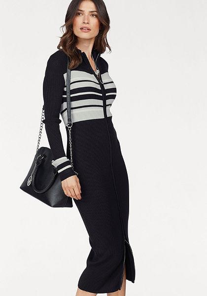 Laura Scott Dlouhý pletený svetr