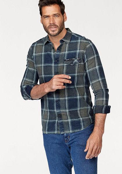 Wrangler Kostkovaná košile