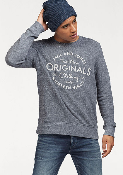 Jack & Jones hosszú ujjú póló »JORBASE SWEAT CREW NECK«