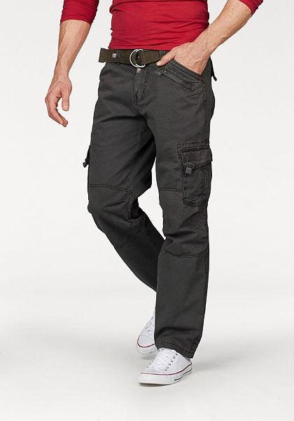 TIMEZONE Cargo kalhoty »Benito« (i opasek)