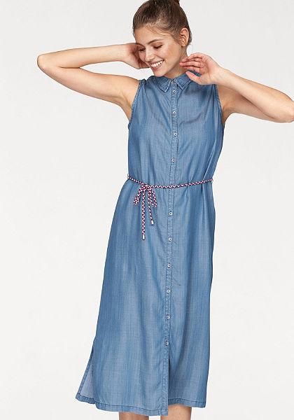 s.Oliver RED LABEL Riflové šaty