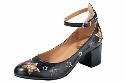 Heine balerinacipő  csillagokkal