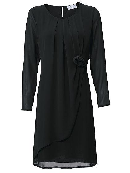ASHLEY BROOKE by heine Šifónové šaty vo vrsvenom vzhľade