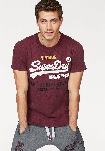 Superdry Tričko »SHIRT SHOP TRI TEE«