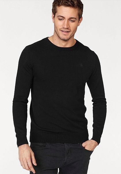 G-Star Pulovr »Core r knit l/s«