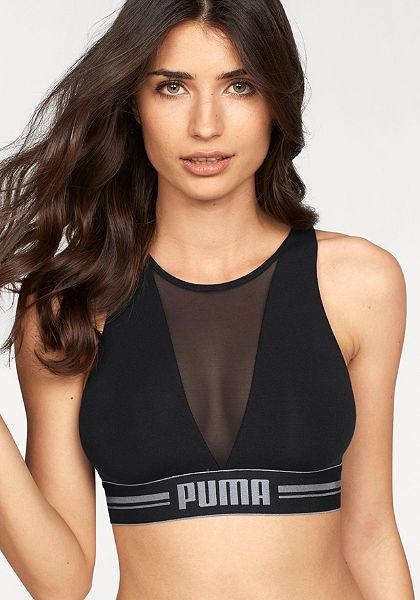 Puma Podprsenkový top »High Neck Bra with Mesh«