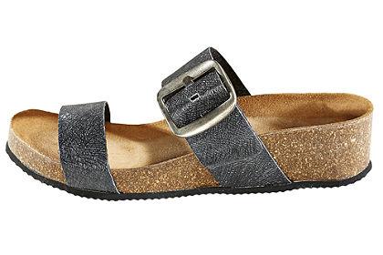thies velúr házi cipő fémes hatással