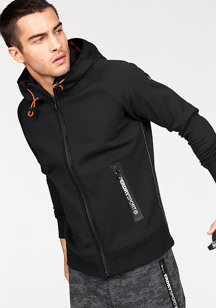 Superdry Mikina »GYM TECH ZIPHOOD«