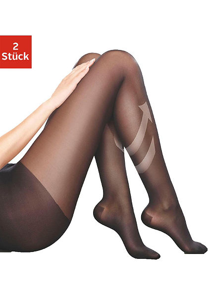 Disée Podporné pančuchové nohavice s kompresnou funkciou (2 ks) 70 DEN