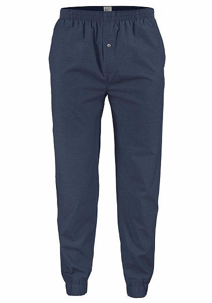 Schiesser lange Pánské dlouhé kalhoty - volnočasové