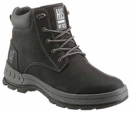 H.I.S Šnurovacie topánky, pevná profilová podrážka